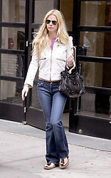 U.S. actress Gwyneth Paltrow, who just signed to be the new face of Estee Lauder's perfume, leaves a bulding in Soho, New York, NY on May 24, 2005. Photo by Charles Guerin/ABACA  | 78543_01 New York City Unitd