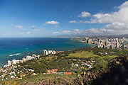Diamond Head State Monument, Summit trail, Waikiki, Honolulu, Oahu, Hawaii