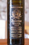 Rukatac Toreta Vinarija 2005 Toreta Vinarija Winery Toreta Vinarija Winery in Smokvica village on Korcula island. Vinarija Toreta Winery, Smokvica town. Peljesac peninsula. Dalmatian Coast, Croatia, Europe.