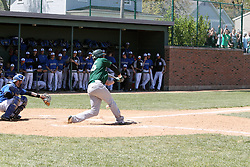11 May 2013:  Bobby Czarnowski during an NCAA division 3 College Conference of Illinois and Wisconsin (CCIW) Pay in Baseball game during the Conference Championship series between the North Park Vikings and the Illinois Wesleyan Titans at Jack Horenberger Stadium, Bloomington IL