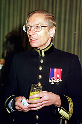 MR MAURICE DALTON assistant Marshal of the Diplomatic<br />  Corps, at a reception in London on 4th May 2000.ODI 8