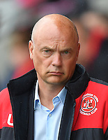 Fleetwood Town's Manager Uwe Rosler<br /> <br /> Photographer Dave Howarth/CameraSport<br /> <br /> The EFL Sky Bet League One - Fleetwood Town v Coventry Town - Saturday 3 September 2016 - Highbury Stadium - Fleetwood<br /> <br /> World Copyright © 2016 CameraSport. All rights reserved. 43 Linden Ave. Countesthorpe. Leicester. England. LE8 5PG - Tel: +44 (0) 116 277 4147 - admin@camerasport.com - www.camerasport.com
