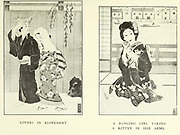 Geisha Lifestyle From the book ' The story of the geisha girl ' by Taizo Fujimoto, Published in London by T. Werner Laurie