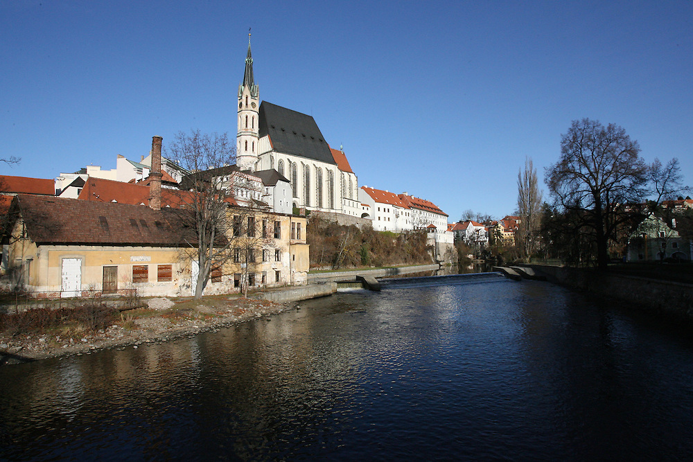 SAINT VITUS CATHEDRAL, CESKY KRUMLOV, CZECH REPUBLIC