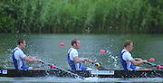 Lucerne, SWITZERLAND, GBR M8+. left to right ,  6. Kieran WEST, 7 Fred SCARLETT  stroke,  Steve TRAPMORE.  2000 FISA World Cup, Rotsee Rowing Course, June 2000.  [Mandatory Credit, Peter Spurrier/Intersport-images] 2000 FISA World Cup, Lucerne, SWITZERLAND