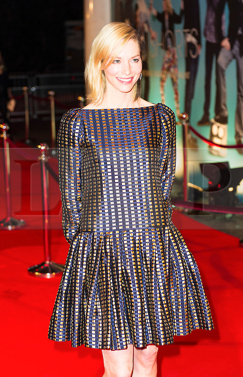 © London News Pictures. 07/11/2013. London, UK. Sienna Guillory attending Virgin Media Shorts, BFI IMAX. Photo Credit: Raimondas Kazenas/LNP