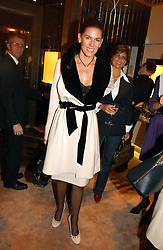 CHRISTINA JUFFALI she was Christina Estrada at a party to ceebrate the bublication of 'The Ravenscar Dynasty' by Barbara Taylor Bradford hld at the newly opened Mousaieff Store, 172 New Bond Street, London on 28th September 2006.<br />