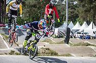 #33 (DAUDET Joris) FRA at Round 5 of the 2018 UCI BMX Superscross World Cup in Zolder, Belgium