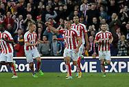 Jon Walters of Stoke celebrates scoring his first goal - Football - Barclays Premier League - Stoke City vs Burnley - Britannia Stadium Stoke - Season 2014/2015 - 22nd November 2015 - Photo Malcolm Couzens /Sportimage