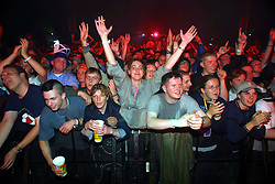 The Proclaimers on stage two, T in the Park, Balado, Fife, 7/7/2001..©2010 Michael Schofield. All Rights Reserved.