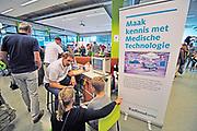 Nederland, Nijmegen, 28-9-2019Open dag voor kinderen en hun ouders in het Technovium. De school, MBO voor techniek .Foto: Flip Franssen
