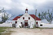 Caribbean island of Grand Turk a church