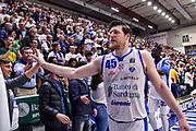Jack Cooley<br /> Banco di Sardegna Dinamo Sassari - Happy Casa Brindisi<br /> LBA Serie A Postemobile 2018-2019 Playoff Quarti di Finale Gara2<br /> Sassari, 20/05/2019<br /> Foto L.Canu / Ciamillo-Castoria