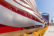 Petersen Automotive Museum in Los Angeles