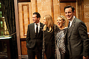 JAMES PUREFOY; SIENNA MILLER; SHERIDAN SMITH; HARRY HADDEN-PATON, After -party celebrating the Gala Preview of the new west end production of Flare Path, Whitehall. March 10 2011.  -DO NOT ARCHIVE-© Copyright Photograph by Dafydd Jones. 248 Clapham Rd. London SW9 0PZ. Tel 0207 820 0771. www.dafjones.com.