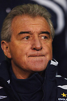 Photo: Paul Greenwood.<br />England v Spain. International Friendly. 07/02/2007. Englands assistant manager Terry Venables in pensive mood before kick off
