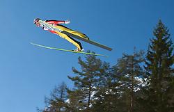 20.03.2011, Planica, Kranjska Gora, SLO, FIS World Cup Finale, Ski Nordisch, Skiflug Einzelbewerb, im Bild Severin Freund (GER) // Severin Freund (GER) during individual competition of the Ski Jumping World Cup finals in Planica, Slovenia, 20/3/2011. EXPA Pictures © 2011, PhotoCredit: EXPA/ J. Groder