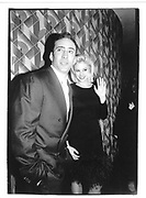 Nicholas Cage and Mira Sorvino, New York© Copyright Photograph by Dafydd Jones 66 Stockwell Park Rd. London SW9 0DA Tel 020 7733 0108 www.dafjones.com