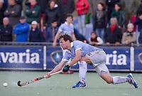 EINDHOVEN - hockey - Eby Kessing tijdens de hoofdklasse hockeywedstrijd tussen de mannen van Oranje-Zwart en Bloemendaal (3-3). COPYRIGHT KOEN SUYK