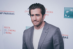 October 28, 2017 - Rome, Italy - Jake Gyllenhaal attends 'Stronger' photocall during the 12th Rome Film Fest at Auditorium Parco Della Musica on October 28, 2017 in Rome, Italy. (Credit Image: © Luca Carlino/NurPhoto via ZUMA Press)