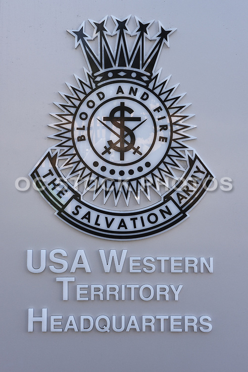 The Salvation Army USA Western Territory Headquarters Signage