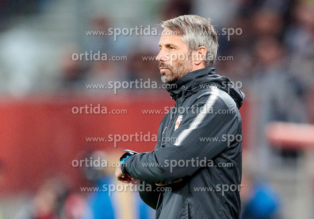 09.05.2018, Woerthersee Stadion, Klagenfurt, AUT, OeFB Uniqa Cup, SK Puntigamer Sturm Graz vs FC Red Bull Salzburg, Finale, im Bild Trainer Marco Rose (FC Red Bull Salzburg) // during the final match of the ÖFB Uniqa Cup between SK Puntigamer Sturm Graz and FC Red Bull Salzburg at the Woerthersee Stadion in Klagenfurt, Austria on 2018/05/09. EXPA Pictures © 2018, PhotoCredit: EXPA/ Johann Groder