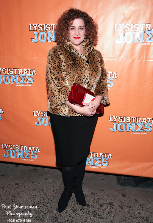 """NEW YORK, NY - DECEMBER 14:  Mary Testa attends the """"Lysistrata Jones"""" Broadway opening night arrivals and curtain call at the Walter Kerr Theatre on December 14, 2011 in New York City.  (Photo by Paul Zimmerman/WireImage)"""