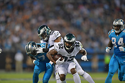 The Philadelphia Eagles beat the Carolina Panthers 28-23 at Bank of America Stadium on October 12, 2017 in Charlotte, North Carolina.  (Photo by Drew Hallowell/Philadelphia Eagles)