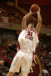 19 November 2005: Michael Vandello leans in for a jump shot. In a non-conference race that came down to a photo finish, the Illinois State Redbirds slipped past the Indianapolis University Greyhounds 54-50 at Redbird Arena in Normal Illinois