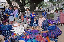 Tourists Buying Handicrafts