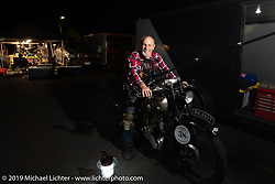 Motorcycle Cannonball coast to coast vintage run. Stage 14 (303 miles) from Spokane, WA to The Dalles, OR. Saturday September 22, 2018. Photography ©2018 by Patrick Arundel for Michael Lichter.