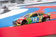 September 28-30, 2018. Charlotte Motorspeedway, ROVAL400: 18 Kyle Busch, M&M's, Toyota, Joe Gibbs Racing