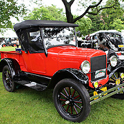 A 1927 Ford Model T at the Greenwich Concours d'Elegance Festival of Speed and Style featuring great classic vintage cars. Roger Sherman Baldwin Park, Greenwich, Connecticut, USA.  2nd June 2012. Photo Tim Clayton