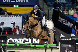 Giesteira Almeida Rodrigo, POR, Isolde vd Heffinck<br /> Stuttgart - German Masters 2018<br /> © Hippo Foto - Stefan Lafrentz
