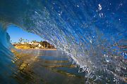 Surf at Main Beach in Laguna Beach California