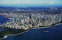 City of Vancouver featuring English Bay and Mount Baker