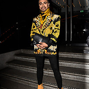 Jay Kamiraz attend TMA Talent Management Group host launch party for their new dating app, The List at 100 Wardour Street  on 3rd April 2019, London, UK.