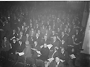 Annual Congress at Gresham Hotel in Dublin..18.04.1954  18th April 1954