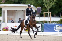Galfi Antonia, HUN, Brillant Mokka Sahne<br /> World Championship Young Horses Verden 2021<br /> © Hippo Foto - Dirk Caremans<br /> 27/08/2021
