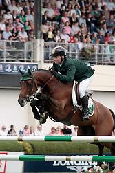 O'Connor Cian (IRL)  -Blue Loyd 12<br /> Dublin Horse Show 2012<br /> © Hippo Foto - Beatrice Scudo