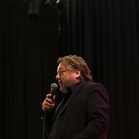 Pete Brown<br /> On stage at the Stoke Newington Literary Festival. 6 June 2015<br /> <br /> Picture by David X Green/Writer Pictures