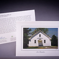 One of the oldest existing town halls in NH, originally built in 1736. <br />