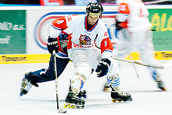 Martin Vozdecky of Czech Republic at IIHF In-Line Hockey World Championships 2011 Top Division Gold medal game between National teams of Czech republic and USA on June 25, 2011, in Pardubice, Czech Republic. (Photo by Matic Klansek Velej / Sportida)