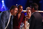 Editorial use only. No book publishing<br /> Mandatory Credit: Photo by Dymond/Thames/Syco/Shutterstock (9698390iv)<br /> David Walliams, Alesha Dixon, Amanda Holden and Simon Cowell<br /> 'Britain's Got Talent' TV show, Series 12, Episode 12, London, UK - 01 Jun 2018