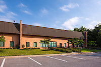Exterior photo of Baltimore Washington Commerce Park warehouse image by Jeffrey Sauers of Commercial Photographics