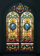 Window 1 on plan.<br /> Eden Baptist Church, Salisbury Cove, Maine.