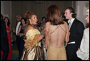 CARMEN OTEDOLA; FRANZI GABBERT; ALEX PROUDLOCK, Florence Heoluwa 'Cuppy' Otedola Marie Antoinette Graduation party. Mandarin Oriental, Knightsbridge25th of July 2014.