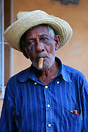 Lemon salesman in Ciego de Avila, Cuba.