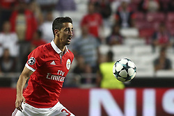 September 12, 2017 - Lisbon, Portugal - Benfica's defender Andre Almeida in action during the Champions League  football match between SL Benfica and CSKA Moskva at Luz  Stadium in Lisbon on September 12, 2017. (Credit Image: © Carlos Costa/NurPhoto via ZUMA Press)