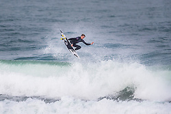 Kael Walsh (AUS) surfing in Qualifying Round 1 Heat 3 of the WSL Redbull Airborne event in Hossegor, France.